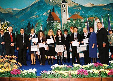 lauréats réception