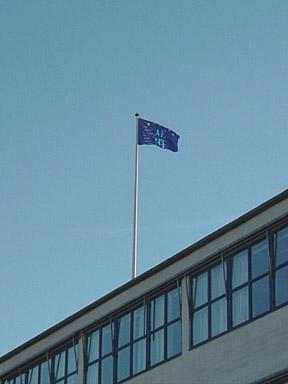 Le drapeau de l'AEHT