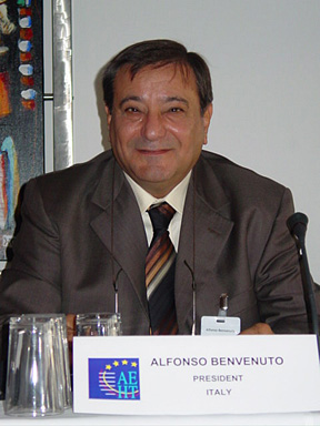 Alfonso Benvenuto the new AEHT President