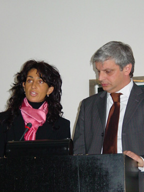 Anna Roncan and Stefano Busolin sing the praises of the Treviso region