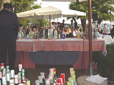Bar : au « Clipper Bar ». Un concours en extérieur, sous le soleil et avec un public toujours trčs attentif