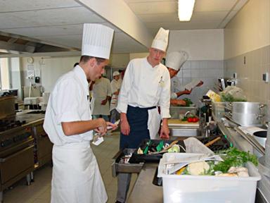 Cuisine : au lycée hōtelier « Paul Valéry » ą Menton, tout est prźt