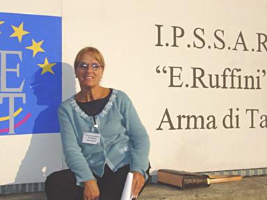 Umidia Nardone, director of the IPSSAR Eleonora Ruffini